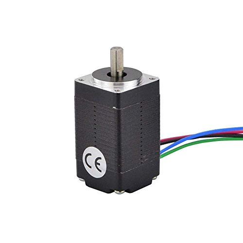 Printer Accessories Mini Nema 8 Stepper Motor 4-Lead 1.8deg 2Ncm(2.83oz.in) 0.6A 20x20x33mm Step Motor for 3D Printer Motor/CNC XYZ 3D Printing Accessories