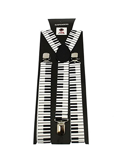 Piano braces white/black - Zac's Alter Ego