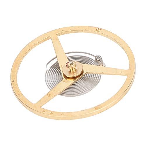 Salmue Professionelle Uhr Unruh, Uhrwerk Teile Unruh + Uhr Unruh Feder + Ersatzteile Fit für ETA 2824 2834 2836 Uhrwerk(2#)
