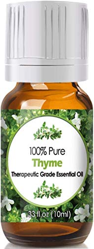Thyme Essential Oil for Diffuser & Reed Diffusers (100% Pure Essential Oil) 10ml