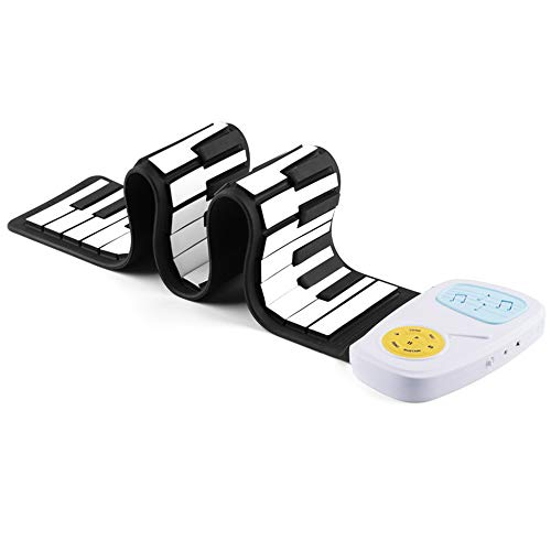 Buy Discount Portable Foldable Roll Up Piano Children's Piano, Rolled Up Piano Keyboard 49 Keys Flex...