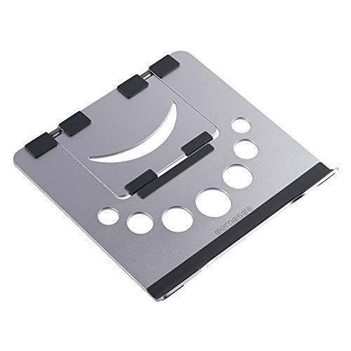 Demosdo - Soporte para ordenador portátil de altura ajustable | Soporte ergonómico de aluminio para escritorio | Soporte de ordenador portátil ventilado