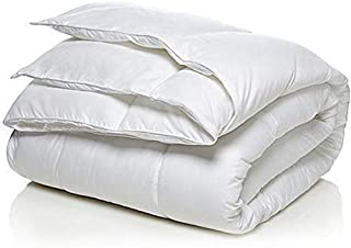 Arex White Color Only Duvet Comforters Quilt Single Size(160x210)
