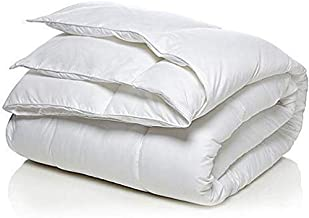 Arex White Color Only Duvet Comforters Quilt King Size(220x240)