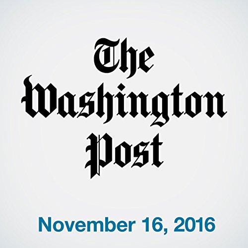 Top Stories Daily from The Washington Post, November 16, 2016 copertina