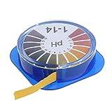 Thy-DPM, Papel de Prueba de ácido alcalino de pH de 5 m Prueba de tornasol de Agua for jardinería Acuario Probador de Plantas Herramientas