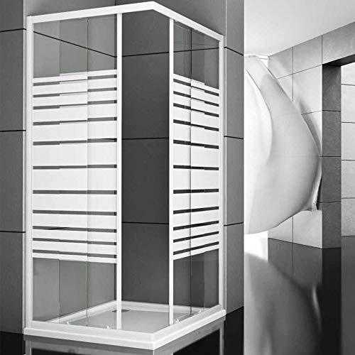 Ogomondo Box Doccia Corner Due Ante Cristallo Serigrafato