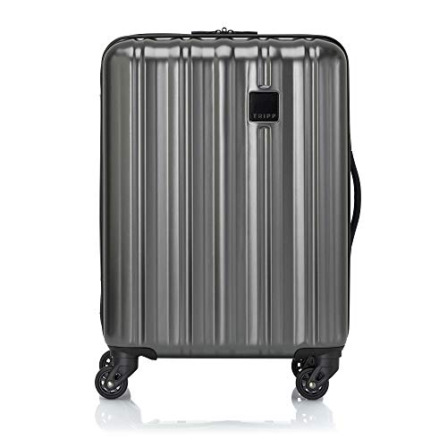 Tripp Pewter Retro II Cabin 4 Wheel Suitcase
