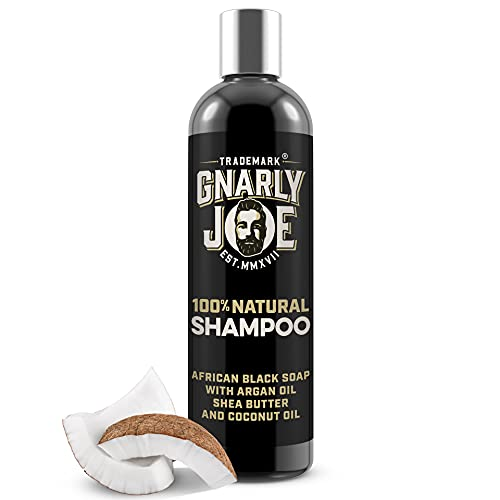Gnarly Joe Mens Shampoo. Natural Ingredients. African Black Soap, with Shea Butter, Argan and...