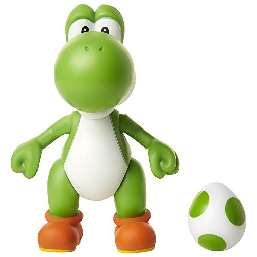 SUPER MARIO 4-Inch Acation Figures Green Yoshi with Egg