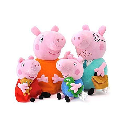 Unbekannt DS *4 Figuren* Peppa Wutz Familie *30 + 19 cm* PLÜSCH Pig