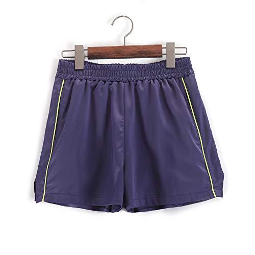 HOSD Sommer Damen Hosen mit geradem Bein dünne lässige Shorts