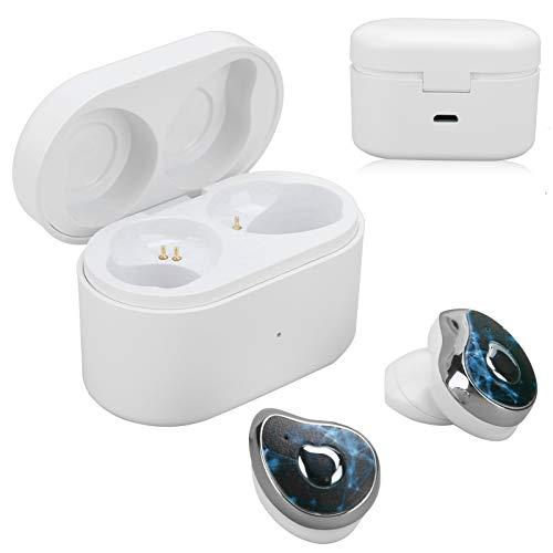 QITERSTAR Verdadero Auricular inalámbrico Cómodo de Usar Auriculares con Voz Clara Fácil de Llevar Oficina para el Trabajo en casa Escuchar música