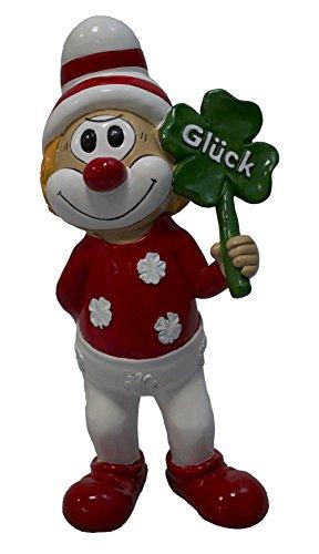 Fig Unisex– Erwachsene Clown Schmitzens' Glücksschmitz Sammelfigur, Multicolor, 20.0 cm