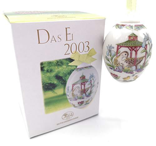 Hutschenreuther - Das Ei 2003 - Porzellanei - Jahresei - NEU - OVP - 1. WAHL