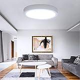 Plafoniera Led Soffitto Moderno 24W 2200LM UFO Pannello Led Rotondo Bianco Freddo 6000K in...