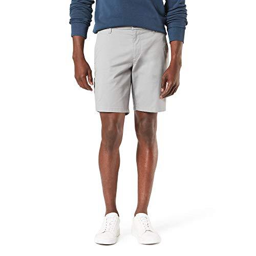 Dockers Men's Straight Fit Supreme Flex Ultimate Short, foil gray, 38W