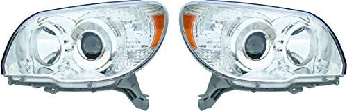Epic Lighting OE Style Replacement NSF Certified Headlights Assembly Compatible with 2006-2009 4Runner Left Driver & Right Passenger Sides Pair
