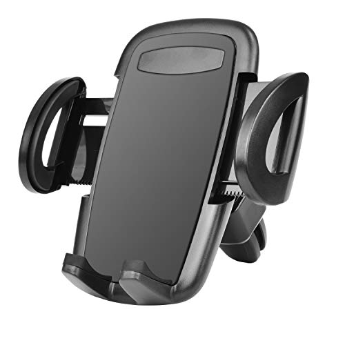 Takfox Car Phone Mount for Samsung Galaxy S20 Ultra S20 Plus S10+ S9 S8 S7 J7 J3, Note 20 Ultra 10 9, A01 A11 A21 A51 A71 A10e A20 A50, Stylo 6,K51,K31 Cell Phone Air Vent Car Mount Phone Holder-Black