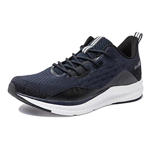 Anbenser Zapatillas de Hombres Deporte Zapatos Ligeras Comodo Zapatos Running Antideslizante Calzado...