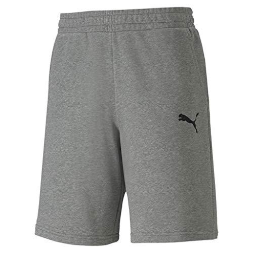 PUMA Herren teamGOAL 23 Casuals Shorts, Medium Gray Heather, 3XL