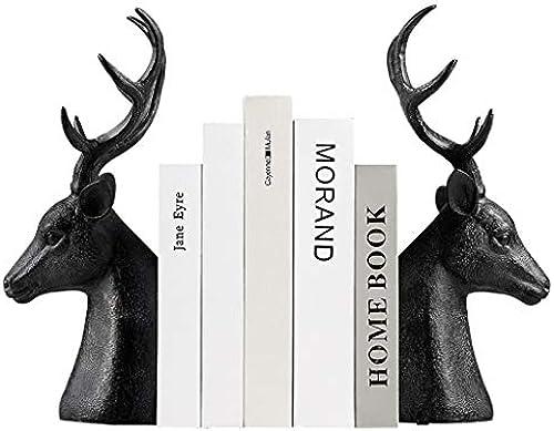 GLJJQMY Nordic Book by Book Buchstützen Creative Simple Multifunktionsbüro Dekorationsverzierungen 17,5x35,5 cm Bücherregal