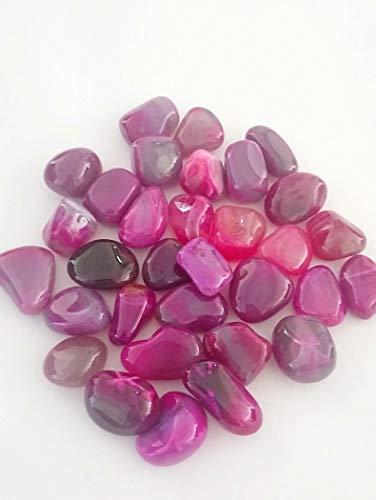 The Healing Corner Piedra de ágata Rosa (10 – 15 mm) 20 Unidades de Cristal curativo pequeño incondicional de Amor. Compra Piedras Preciosas a Granel