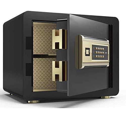Actualice la caja de seguridad de seguridad, gabinete de seguridad digital Caja de seguridad Gabinetes con cerradura Caja fuerte de efectivo Caja fuerte de acero sólido Almacenamiento de joyas Cajas d