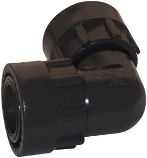 2 Polietileno Negro 10x6.6x6.6 cm Rc Junter 922-TM Tap/ón Rosca Macho