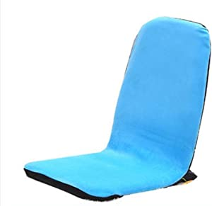 Lazy Sofa, Beanbag, Legless Bed Backrest Chair Collapsible Leisure Sofa Dorm Room Japanese-Style Removable and Washable Deck Chair Computer Chair (Color : #4)