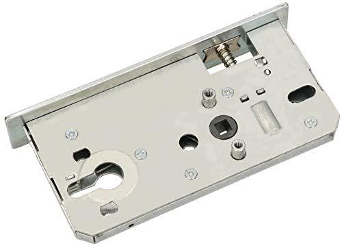 KOTARBAU® Einsteckschloss 72/55 / 40mm Verzinkt für Tore Pforten Universal für Rechts und Links