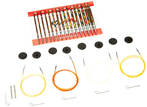 KnitPro Symfonie: Knitting Pins: Circular: Interchangeable: Deluxe Set