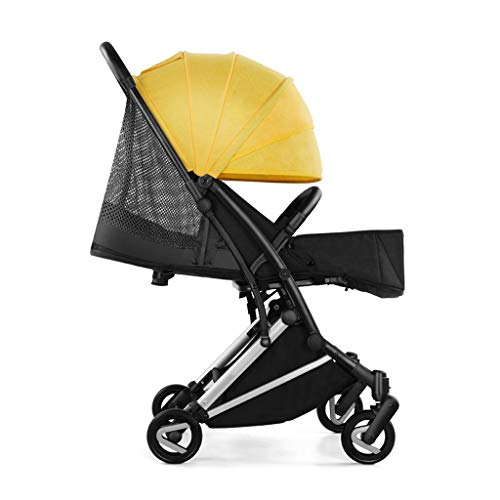 Lowest Prices! Panpancc Foldable Stroller, Three-Sided Breathable Stroller - Single-Sided Disassembl...