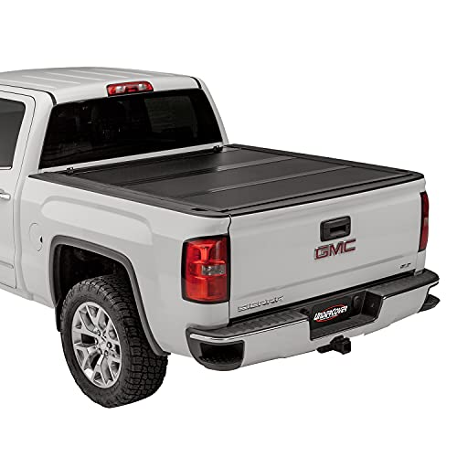 UnderCover Ultra Flex Hard Folding Truck Bed Tonneau Cover | UX12019 | Fits 2014-2018, 19 Limited/Legacy Chevy/GMC...