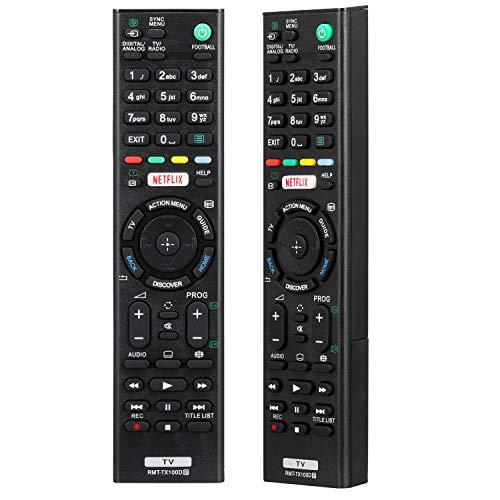 RMT-TX100D Ersatzfernbedienung Passend für Sony Bravia Smart TV RMT-TX200E RMT-TX300E RMT-TX102D