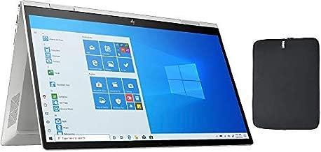 HP Envy X360 2 in 1 15.6 Inch FHD Touchscreen Laptop, Intel Quad Core i5-1035G1 (Beat i7-7500U), 16GB RAM, 512GB PCIe SSD, Backlit Keyboard, Fingerprint Reader, Windows 10, w/ WOOV Accessory Bundle