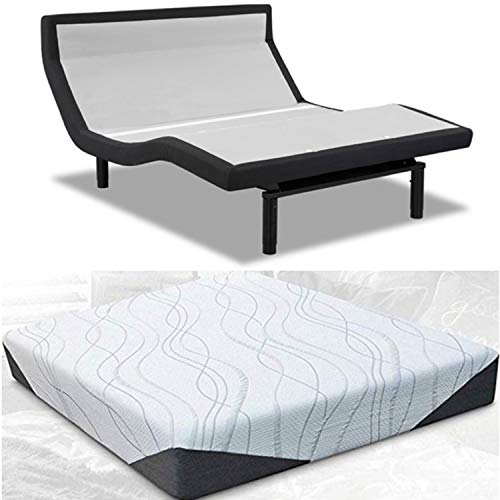 Read About Leggett & Platt Prodigy 3.0 PT Adjustable Bed w/Choice of BedBoss Cool Gel Memory Foam Ma...