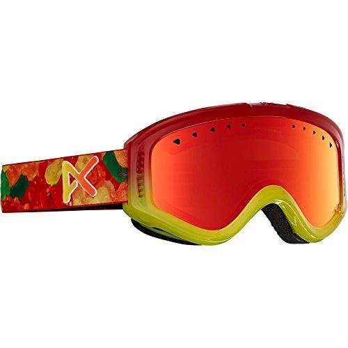 Burton Jungen Snowboardbrille Tracker, Gummy/Red Amber, One Size