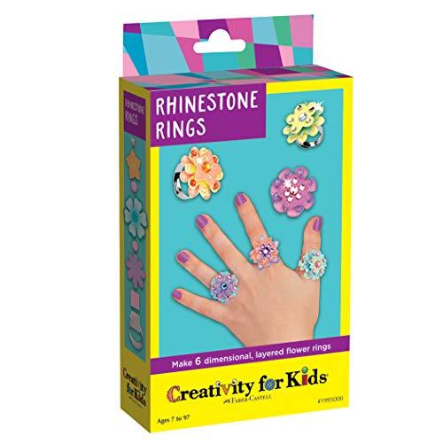 Creativity for Kids - Cfk1995 - Kit De Loisirs Créatifs - Mini-kit Bagues en Strass