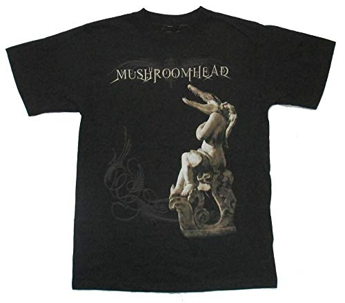 YOUCHEN Mushroomhead Gator Jumbo Print Metal T-Shirt for Mens Black T-Shirt XXL