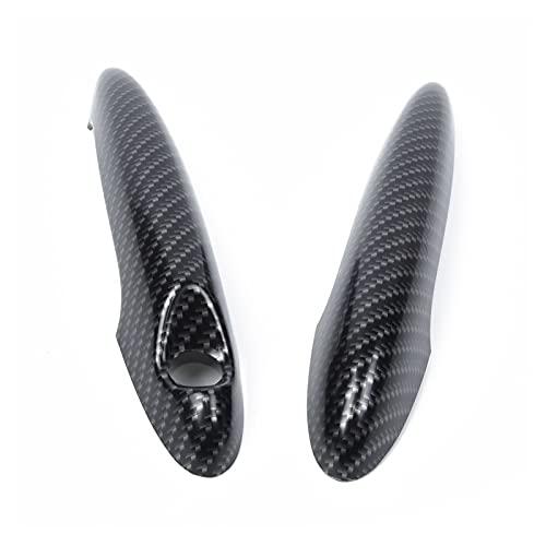 CRTXBCG THLULULULULU Ajuste para Mini Cooper S R50 Cubiertas de Mango de Puerta Auto R53 R55 R56 Kit Durable