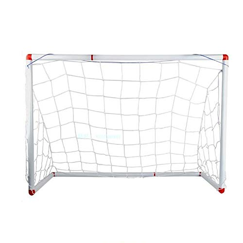 ReedG Children Football Goal Soccer Net Goal Portable Football Goal Mini For Kids Indoor Outdoor Garden Toy 86 X 45 X 61cm Portable Football Net Soccer Games (Color : As Shown, Size : 86x45x61cm)