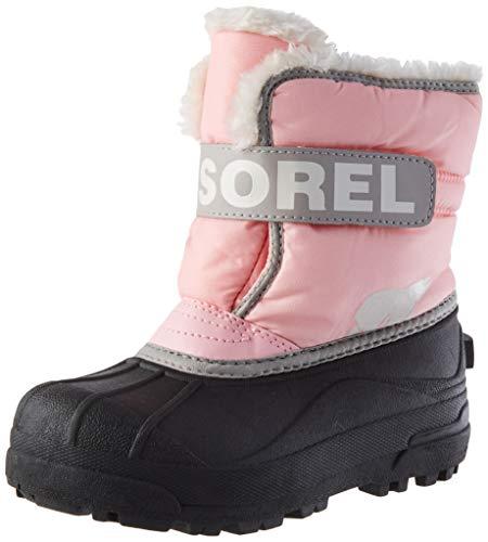 Sorel Childrens Snow Commander, Botas de Invierno Unisex niños, Rojo (Cupid), 31...
