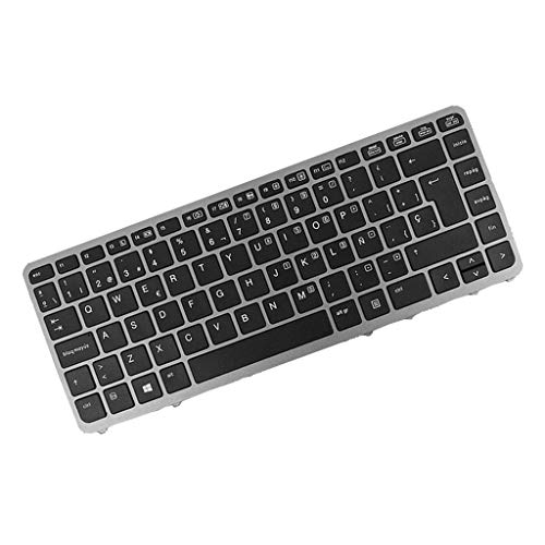 Gazechimp Completo Teclado Pieza de Repuesto para HP Elitebook 840 G1, 290 x 150 x 5mm