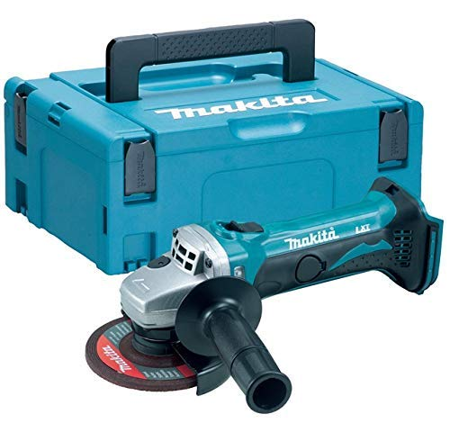 Makita DGA452Z 18v 115mm LXT Cordless Angle Grinder Body with 821551-8 Case & Inlay