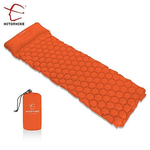 RubyShopUU Hitorhike Inflatable Sleeping Pad Moisturepro Camping Mat with Pillow air Mattress Cushion Sleeping Bag air Sofa Inflatable Sofa