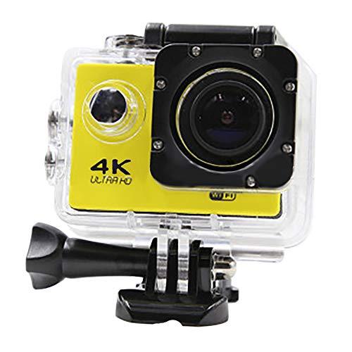 LHZTZKA Actioncamera, wifi, 4 K, waterdicht, wifi, watercamera, Ultra HD, onderwateruitgang, lange tijd – goed voor wandelingen buitenshuis, zwemmen, skiën