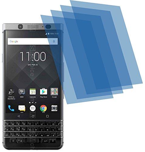 4ProTec I 4X GEHÄRTETE ANTIREFLEX matt 3D Touch Schutzfolie für BlackBerry KEYone Bildschirmschutzfolie Schutzhülle Displayschutz Displayfolie Folie