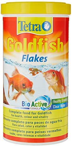 Tetra Goldfish Flake Fish Food, Complete Fish Food for All Goldfish, 1L