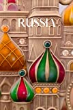 Russia: 6x9 inch lined Russia notebook, 100 pages, includes Russian phrases, quotes and expressions, a perfect Russian language learning or travel journal, or to write your own Russia travel guide.